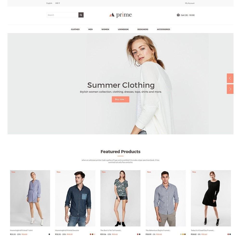 theme - Mode & Chaussures - Prime Fashion  - Women Cloth Designer Store - 2