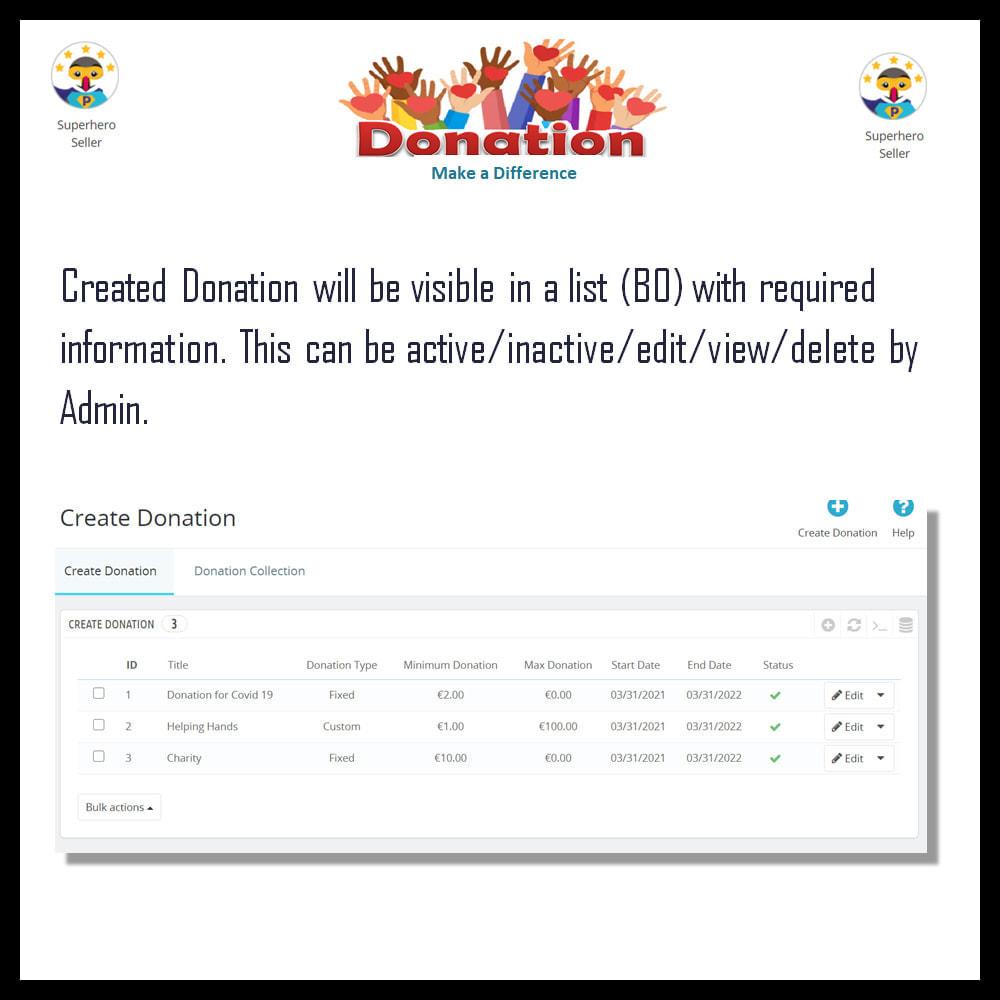 module - Andere betaalmethodes - Donation - 4