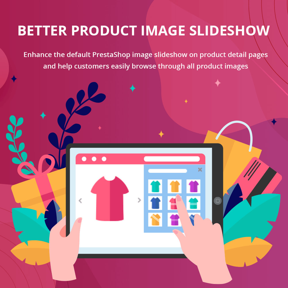 module - Sliders y Galerías de imágenes - Better Product Image Slideshow - 1