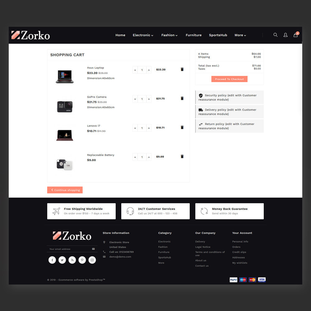 theme - Electronique & High Tech - Zorko Electronic Store - 5