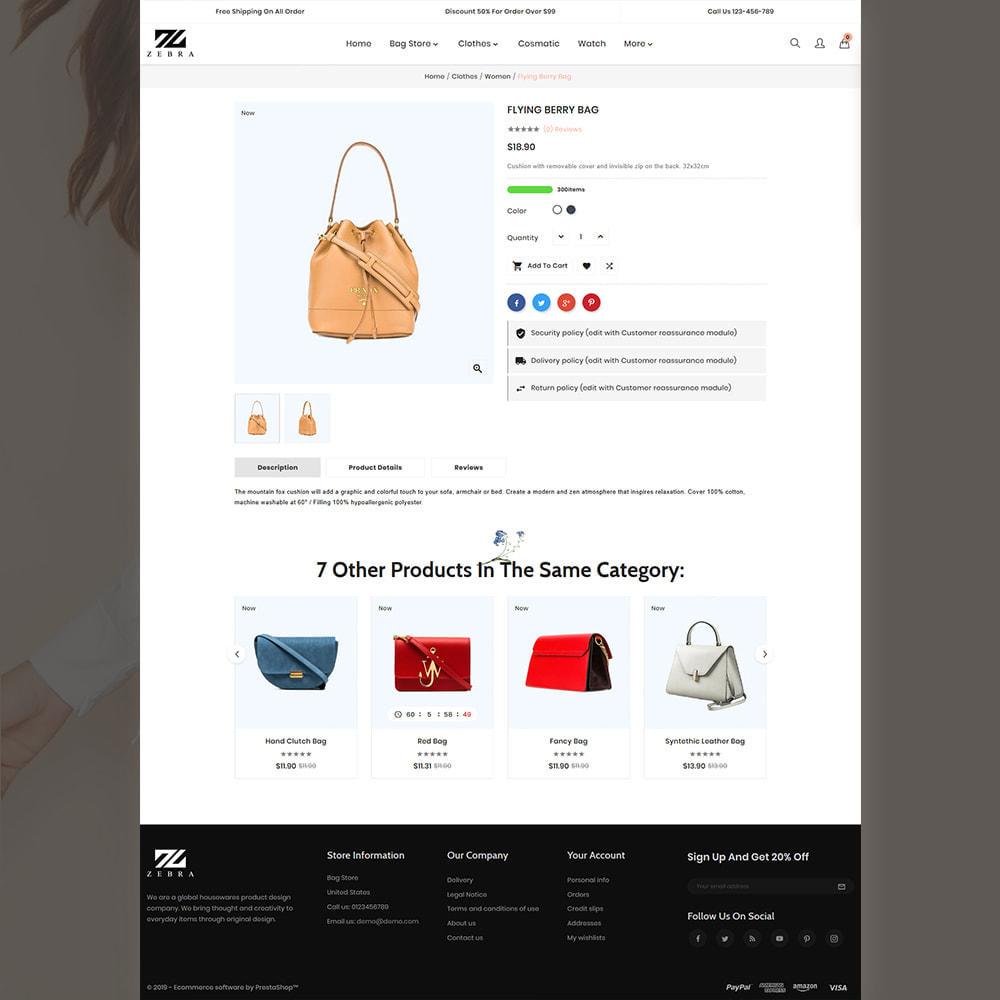 theme - Mode & Chaussures - Zebra Fashion Store - 4