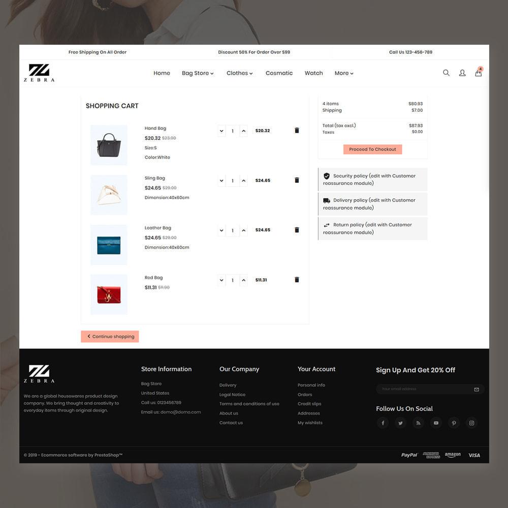 theme - Mode & Chaussures - Zebra Fashion Store - 5