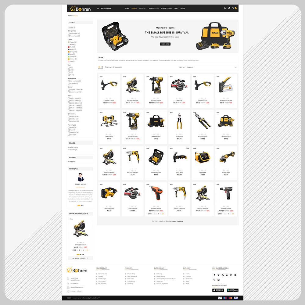 theme - Auto & Moto - Bohren – The Tools Mega Shop - 3