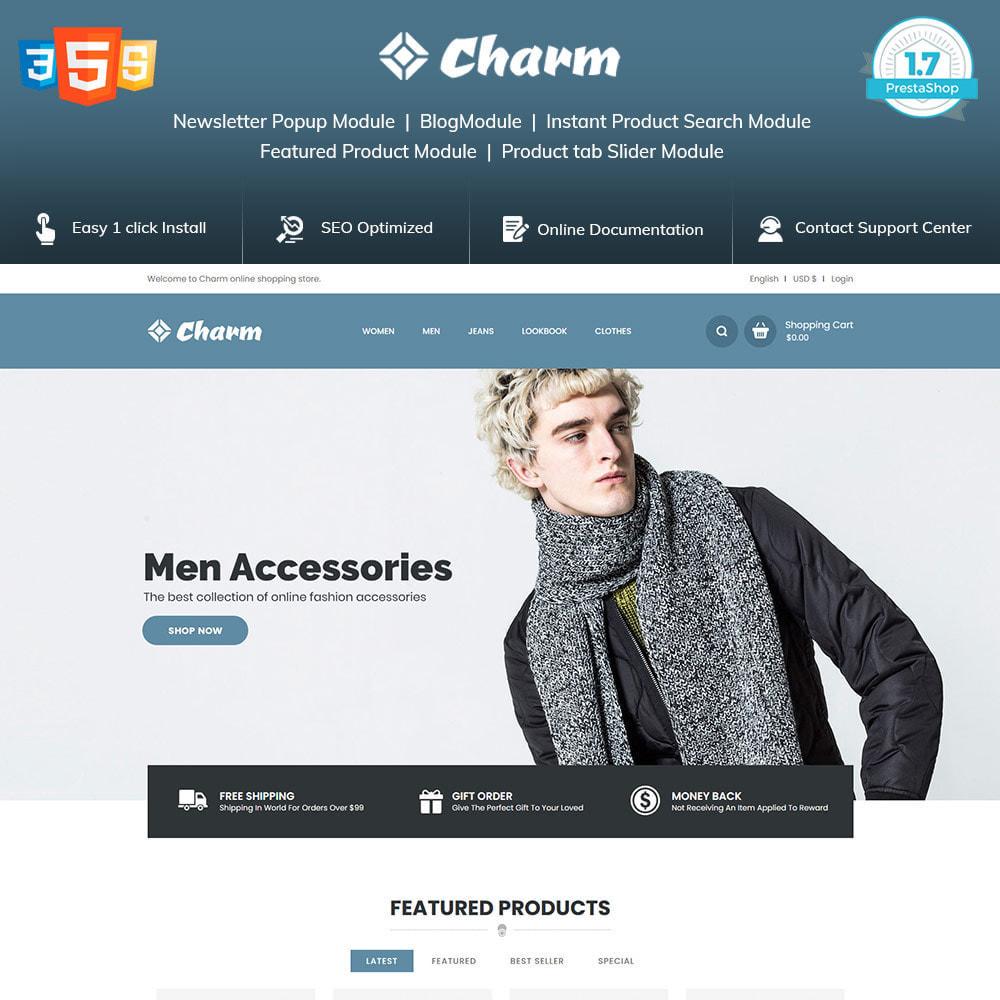 theme - Mode & Chaussures - Charm Fashion - Boutique de créateurs de vêtements - 1