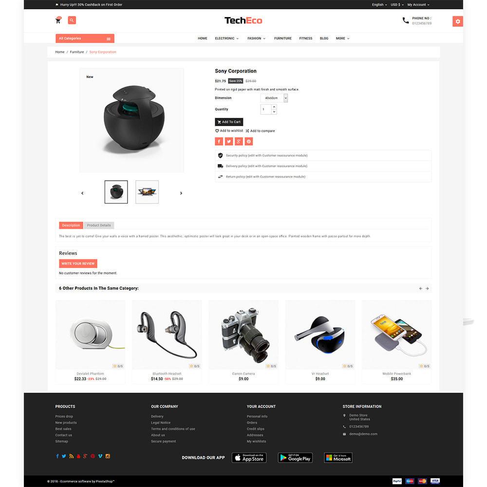 theme - Electronique & High Tech - Tech Eco Electronic Shop - 5