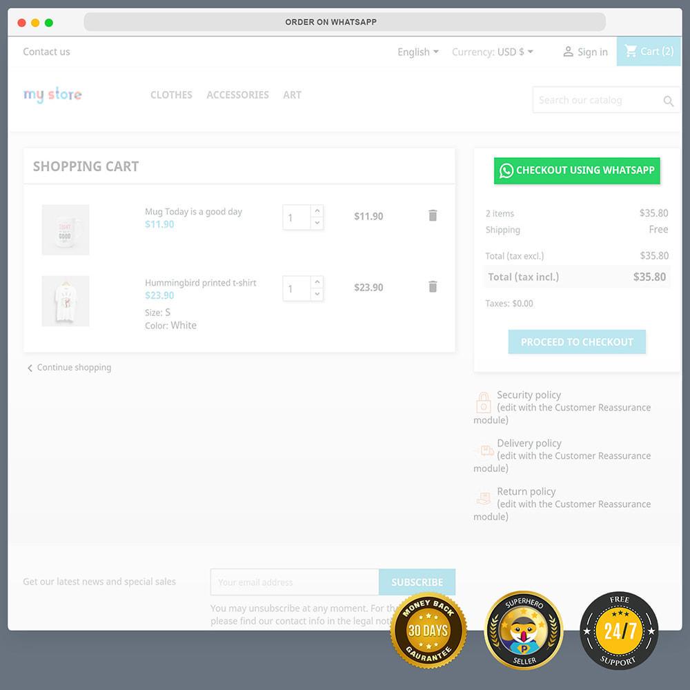 module - Wsparcie & Czat online - Integracja WhatsApp PRO - zamówienie, czat, agenci - 6