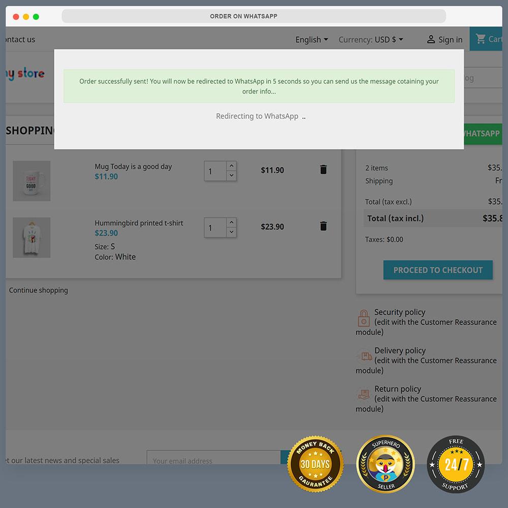 module - Wsparcie & Czat online - Integracja WhatsApp PRO - zamówienie, czat, agenci - 10