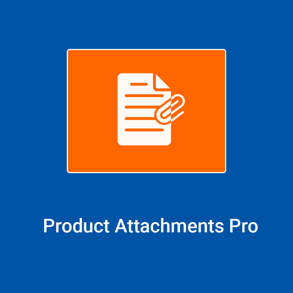 module - Combinations & Product Customization - Product Attachments Pro - 1