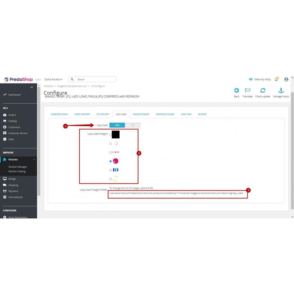 module - Visuels des produits - Image Compress with reSmush + CRON JOB - 10