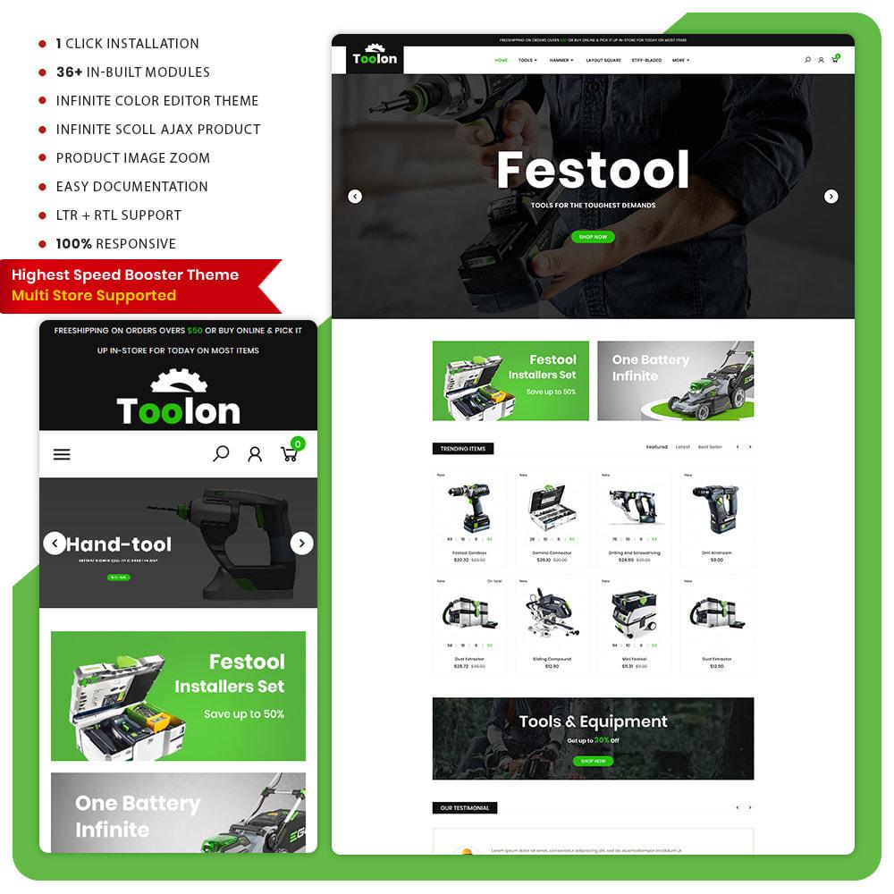theme - Auto & Moto - Toolen Tools Mega Mall - 1