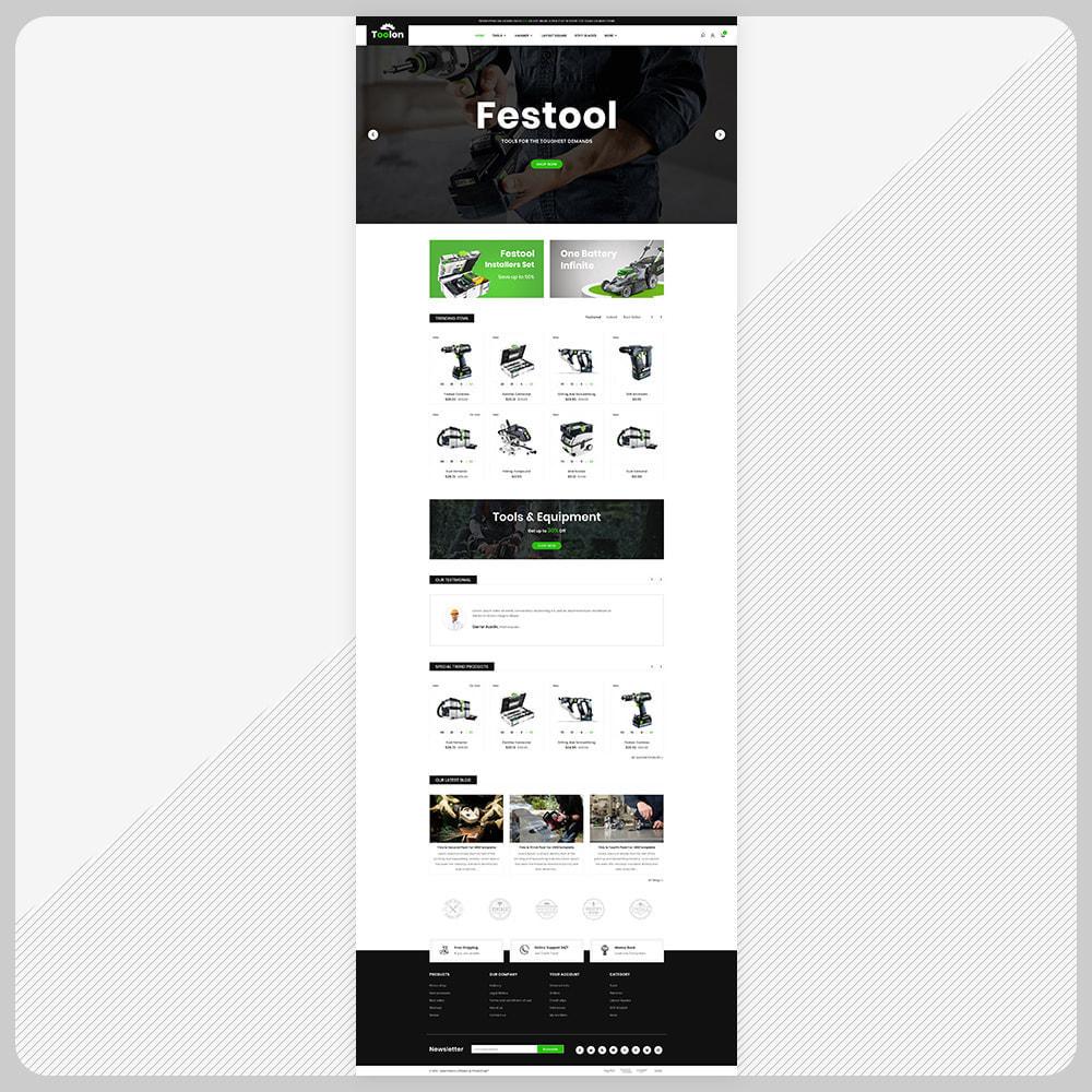 theme - Auto & Moto - Toolen Tools Mega Mall - 2