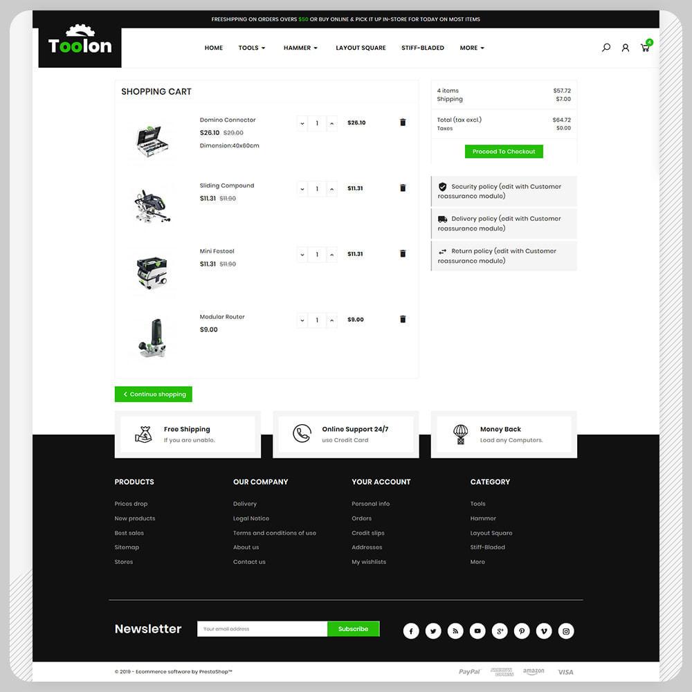 theme - Авто и Мото - Toolen Tools Mega Mall - 5