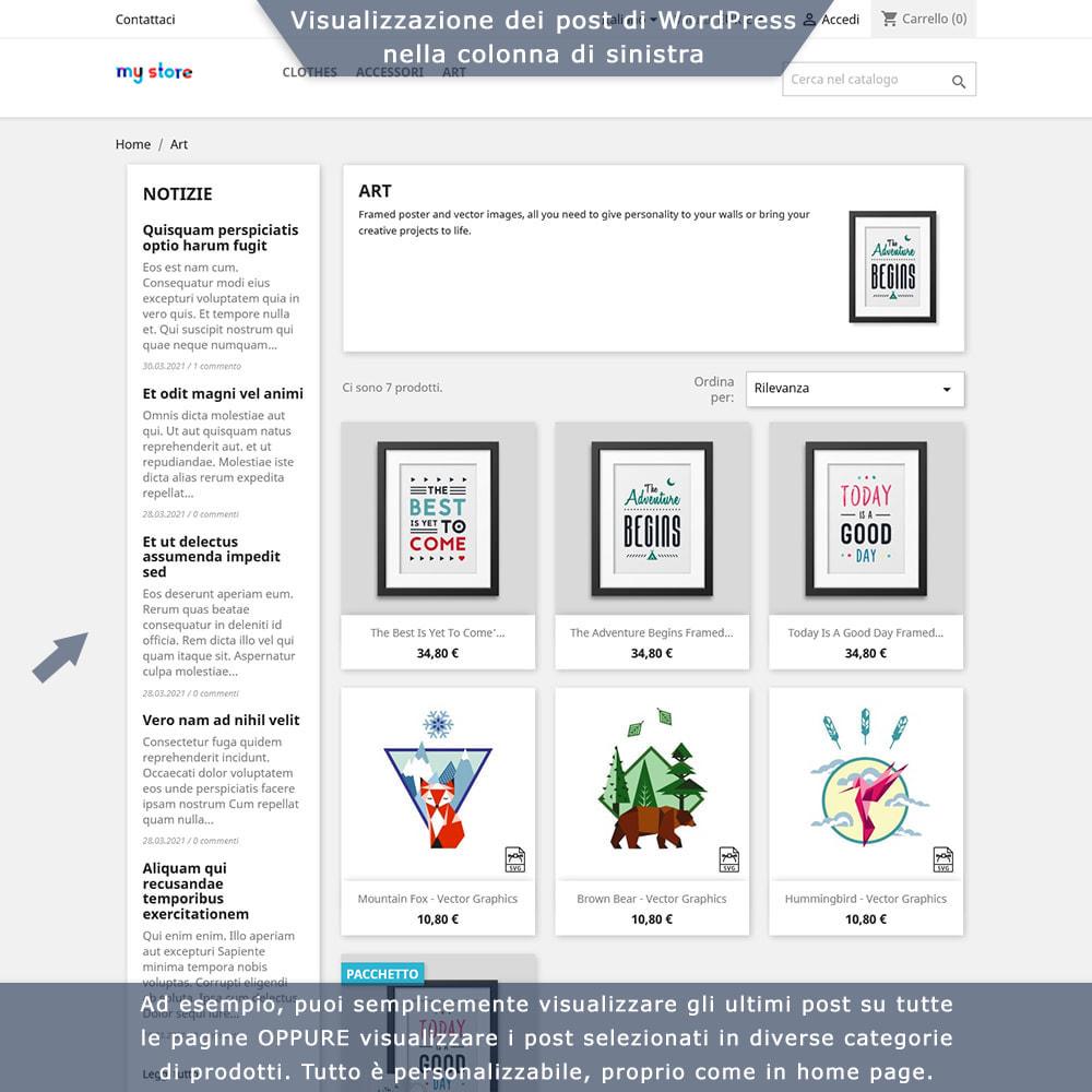 module - Blog, Forum & News - Integrazione bidirezionale PrestaShop e WordPress - 3