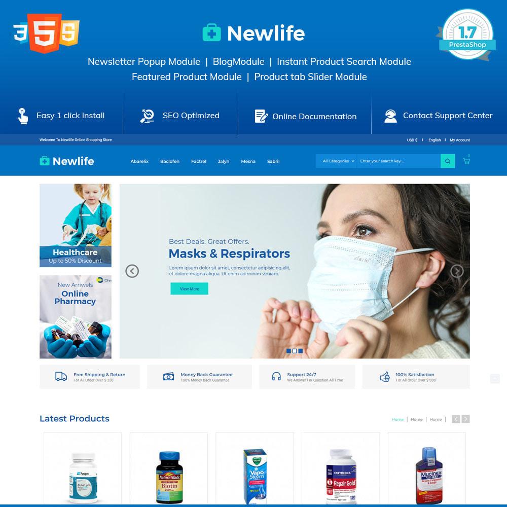 theme - Santé & Beauté - Newlife Medical - Santé, Pharmacie, Pharmacie - 2