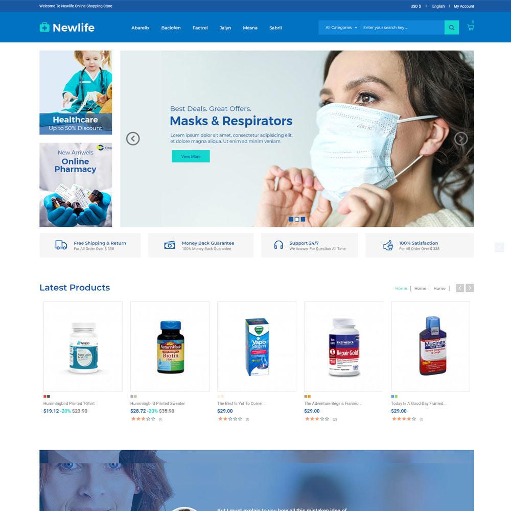 theme - Santé & Beauté - Newlife Medical - Santé, Pharmacie, Pharmacie - 3