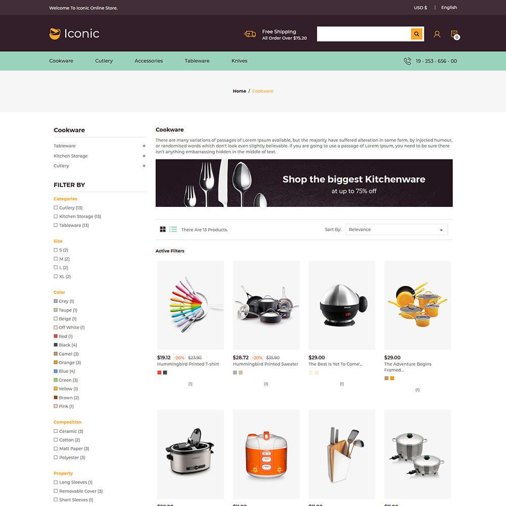 theme - Maison & Jardin - Ustensiles de cuisine - Magasin de couteaux - 4