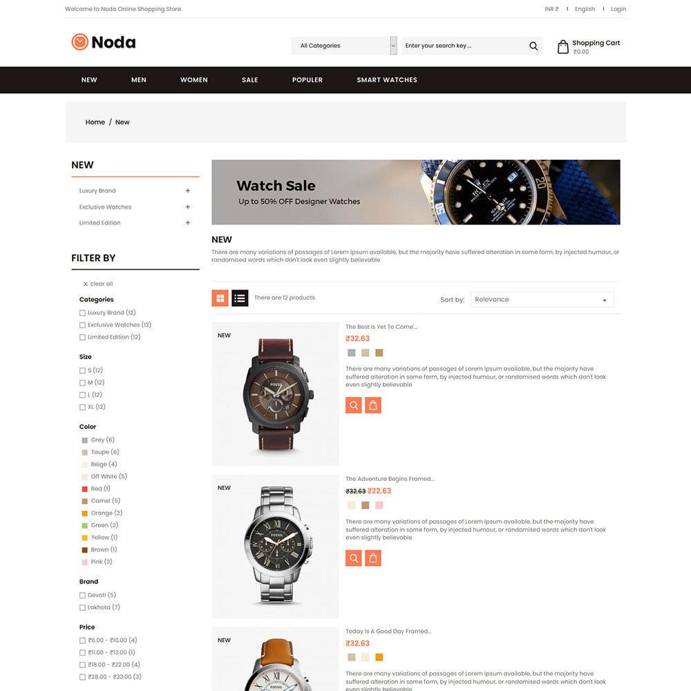 theme - Jewelry & Accessories - Noda Watch Accessories  - Fashion Store - 3