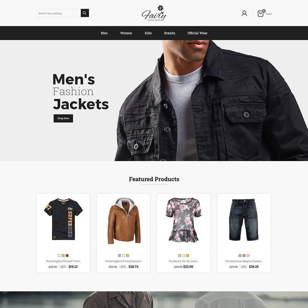 theme - Fashion & Shoes - Fairy Cloth Shirt  - Fashion Accessories Store - 1