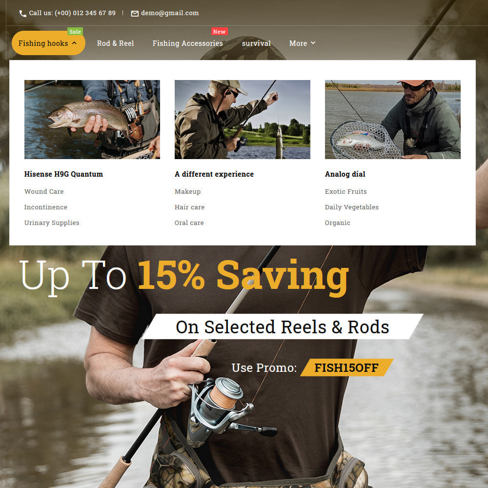 theme - Sport, Aktivitäten & Reise - Fishing club - Equipment Store - 15