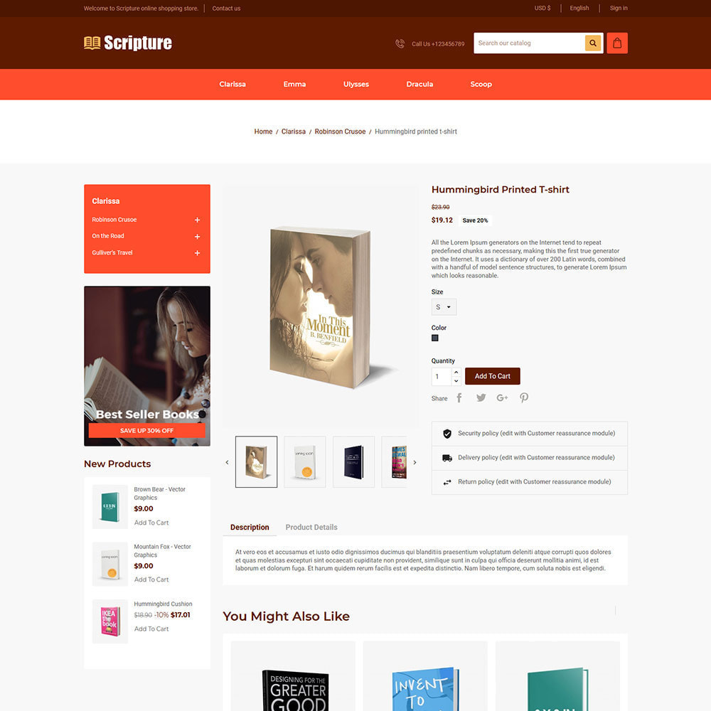 theme - Kunst & Kultur - Scripture Ebook  - Library Magazines Paper  Store - 4