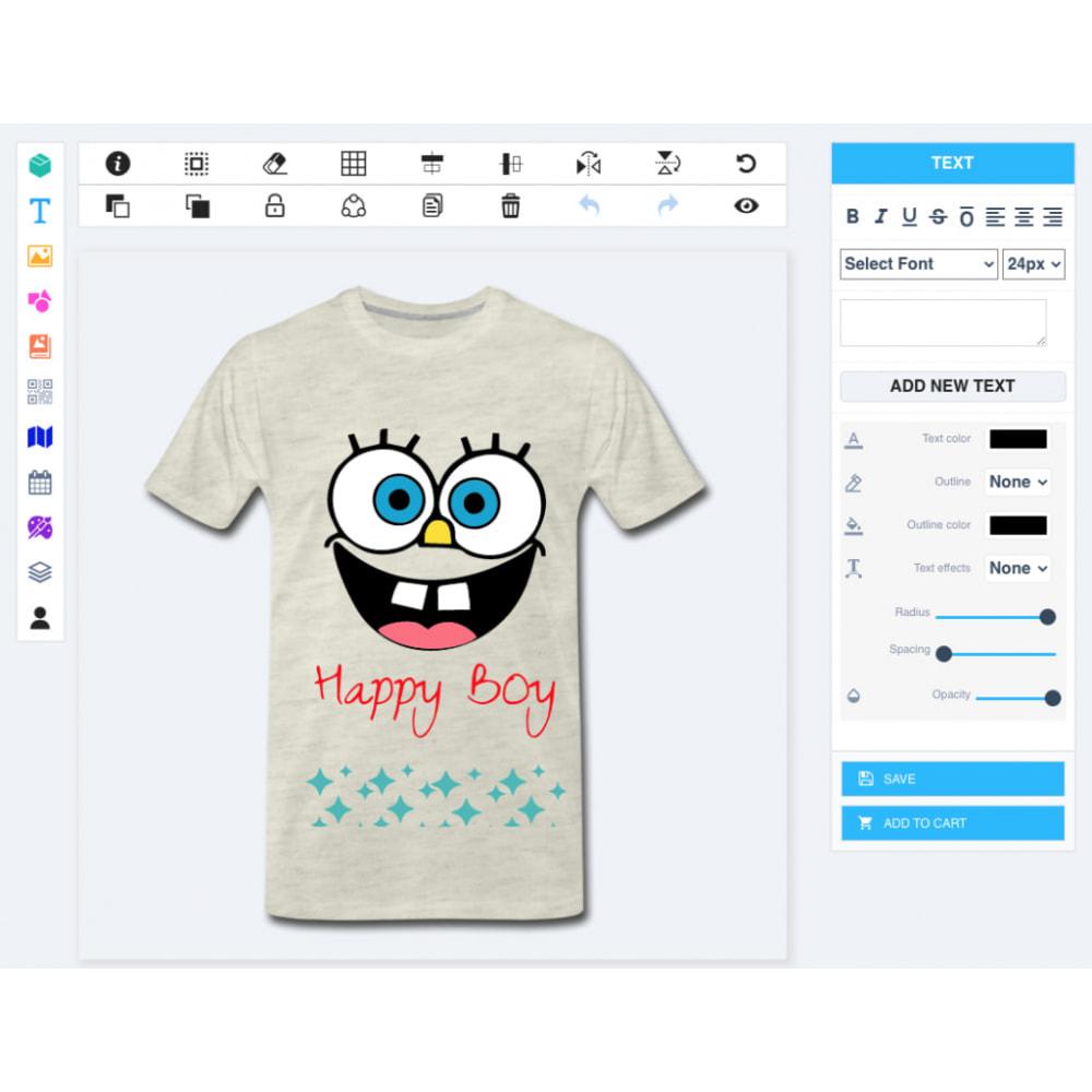 module - Combinations & Product Customization - Product Designer Studio - 3