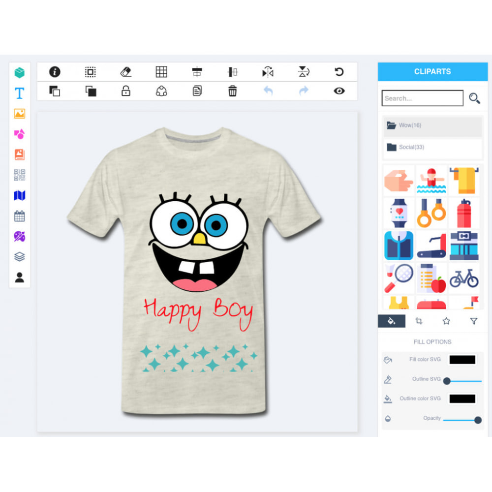 module - Combinations & Product Customization - Product Designer Studio - 4