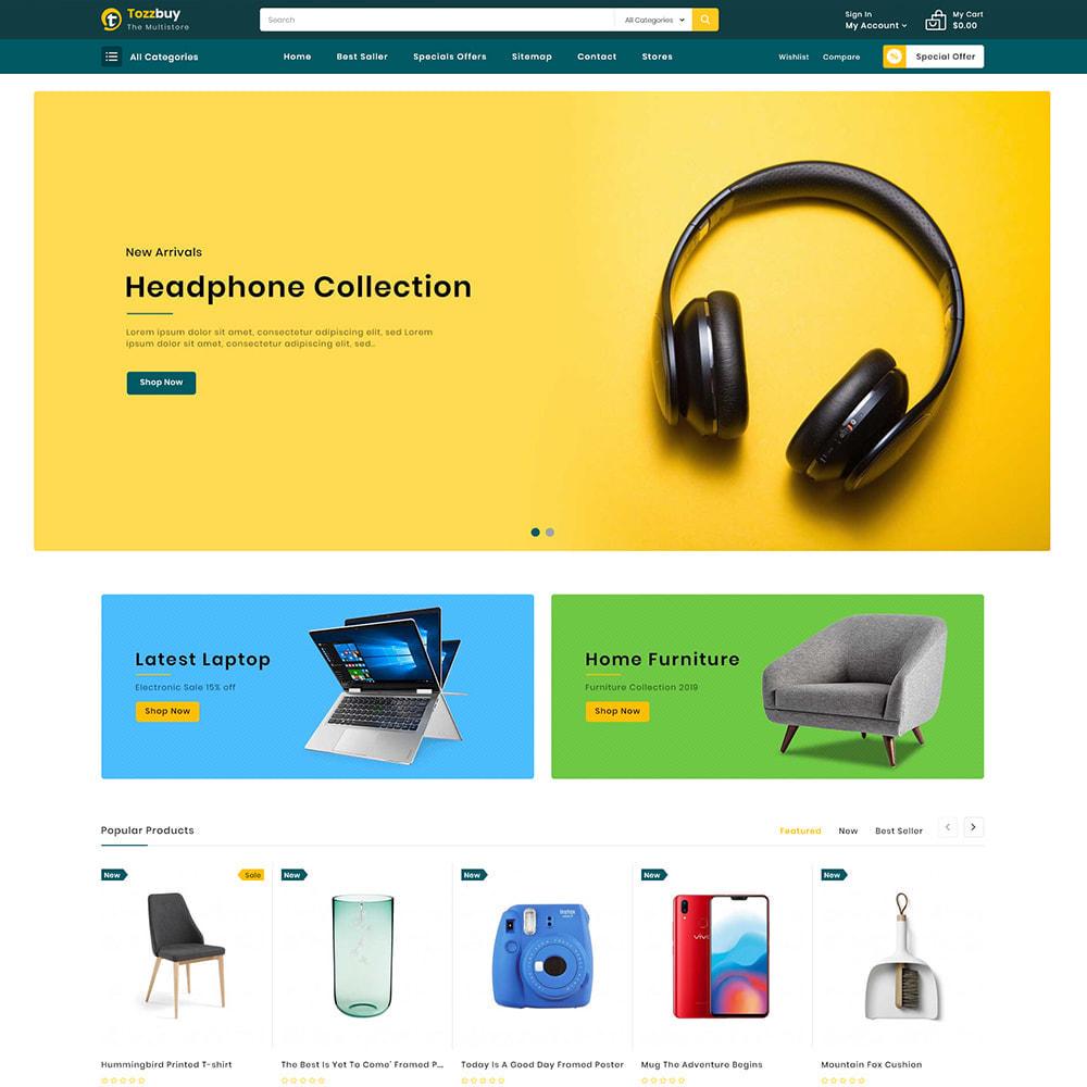 theme - Elektronik & High Tech - Tozzbuy - Super Market Multipurpose Store - 2