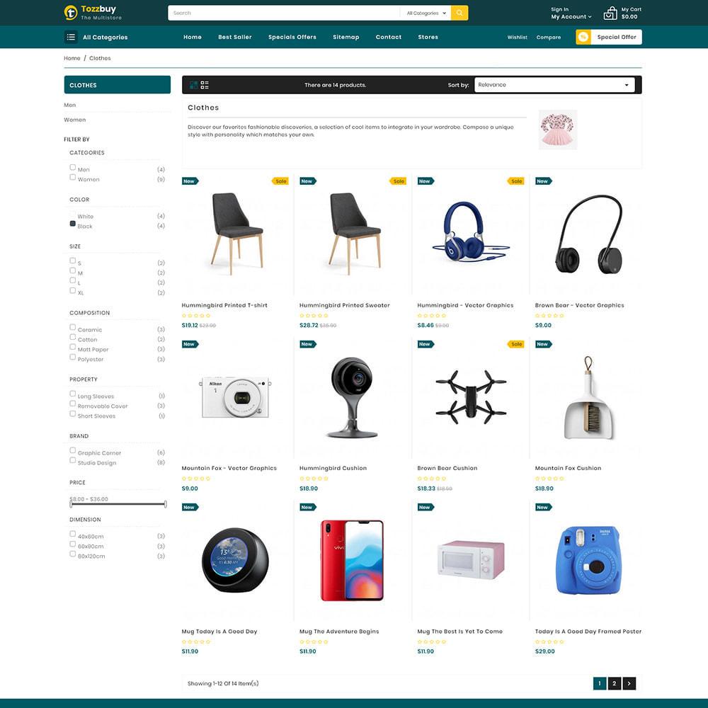 theme - Elektronik & High Tech - Tozzbuy - Super Market Multipurpose Store - 3