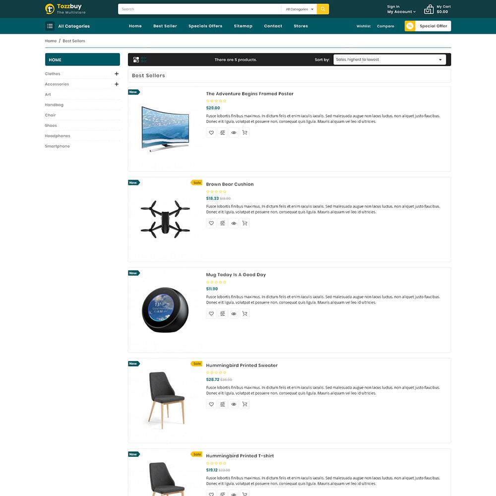 theme - Elektronik & High Tech - Tozzbuy - Super Market Multipurpose Store - 4