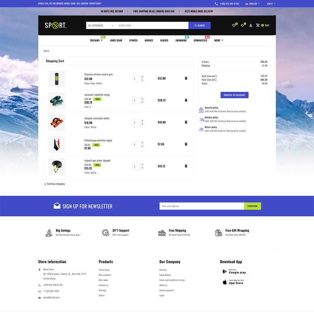 theme - Sports, Activities & Travel - Sports - Travel Store - 10