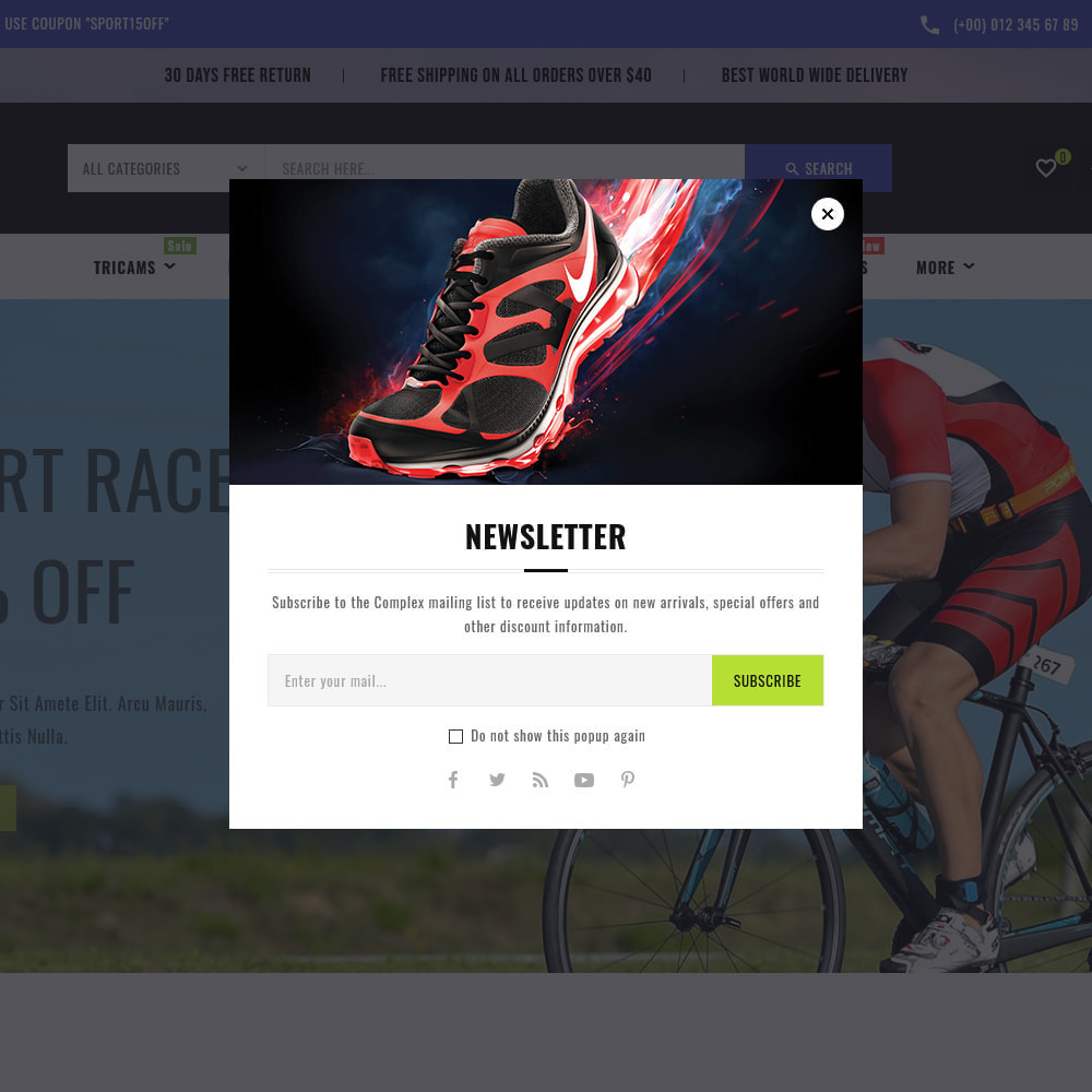 theme - Sports, Activities & Travel - Sports - Travel Store - 12