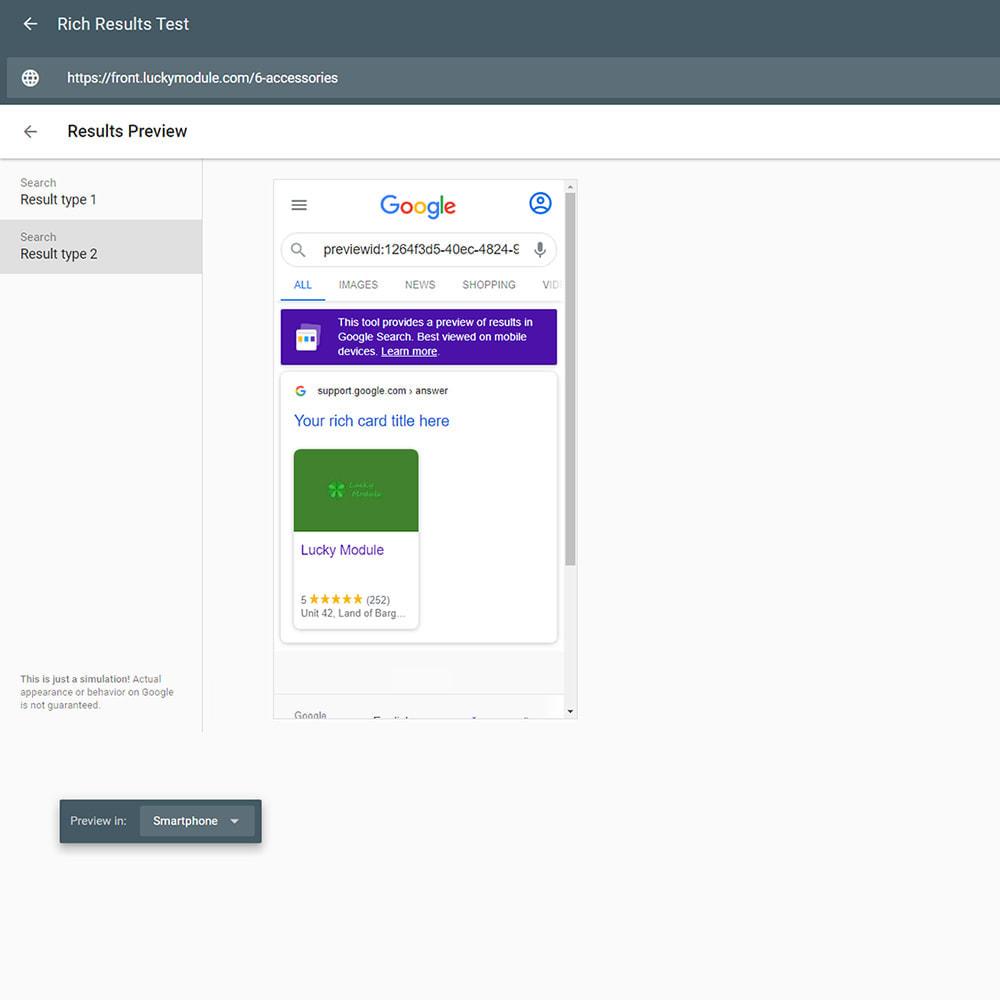 module - SEO (Indicizzazione naturale) - Google Special Announcement & SEO Schema Data Markup - 6