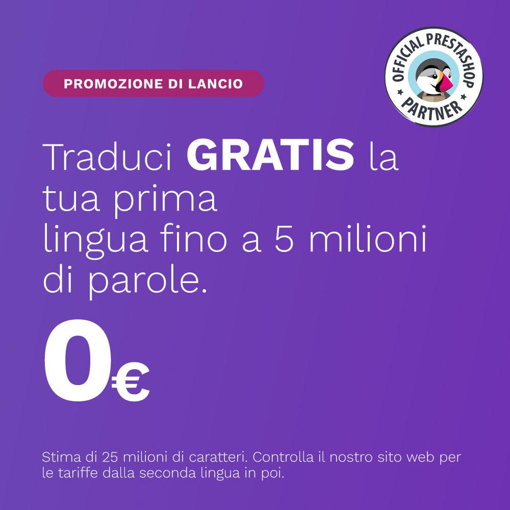 module - Lingue & Traduzioni - Glotio - Traduci il tuo PrestaShop in oltre 50 lingue - 1
