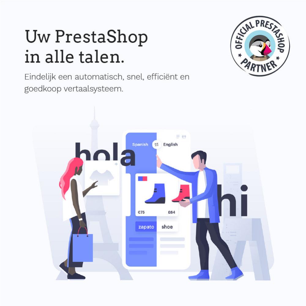 module - Internationaal & Lokalisatie - Glotio - Vertaal uw PrestaShop in meer dan 50 talen - 2