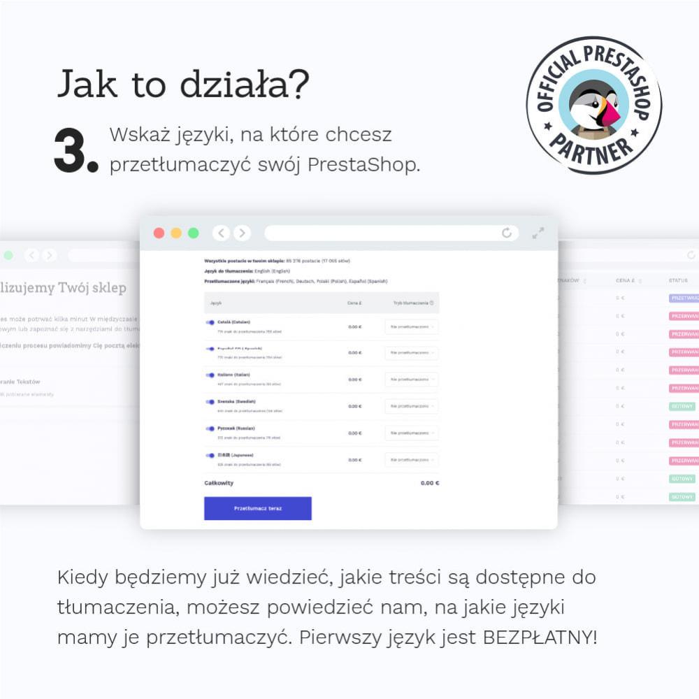 module - Międzynarodowość & Lokalizacja - Glotio-Przetłumacz swój PrestaShop na ponad 50 języków - 6