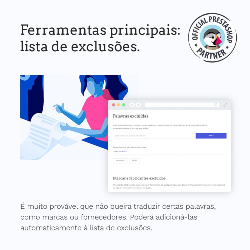 module - Internacional & Localização - Glotio - Traduza a sua PrestaShop em mais de 50 idiomas - 9