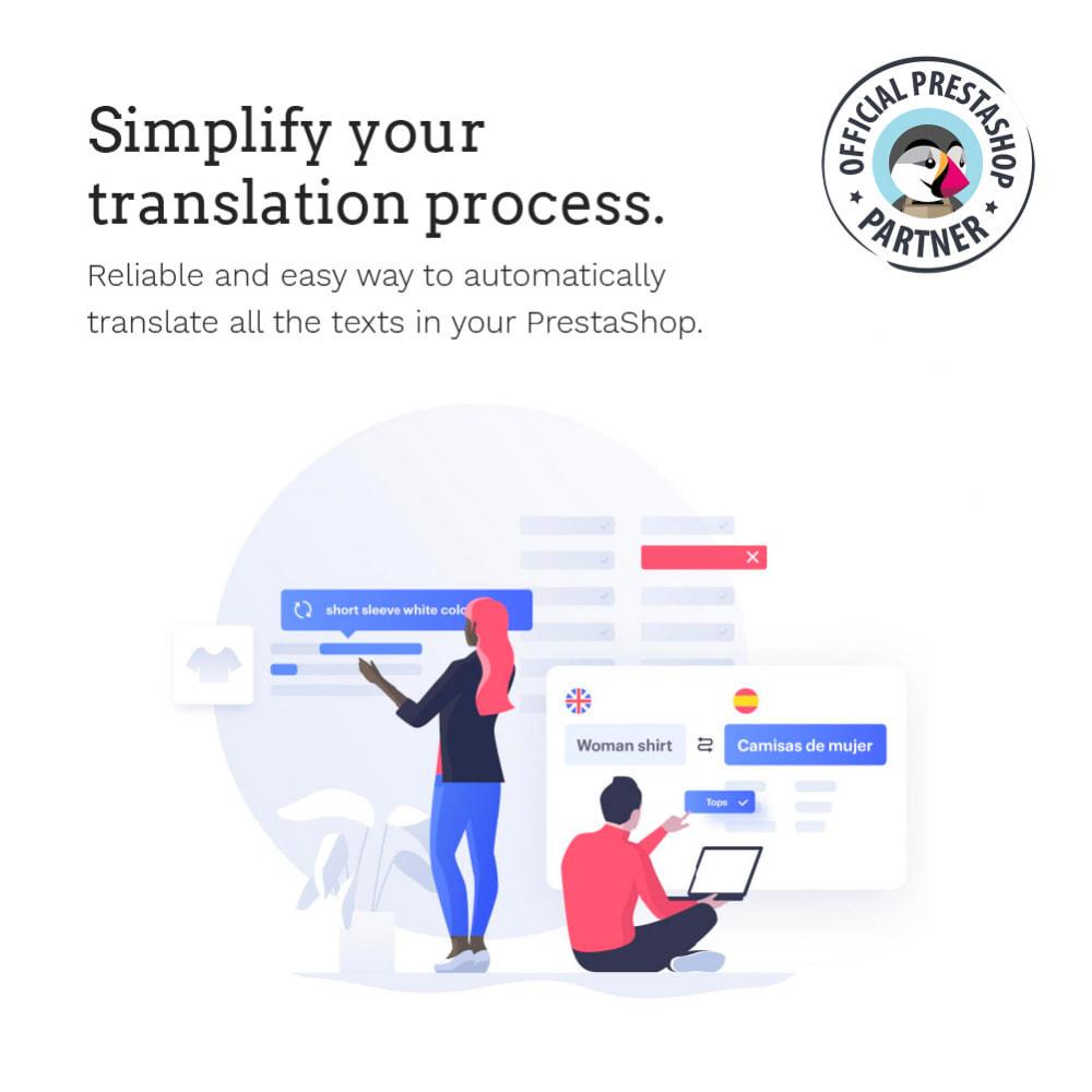 module - International & Localization - Glotio - Translate your PrestaShop in over 50 languages - 3