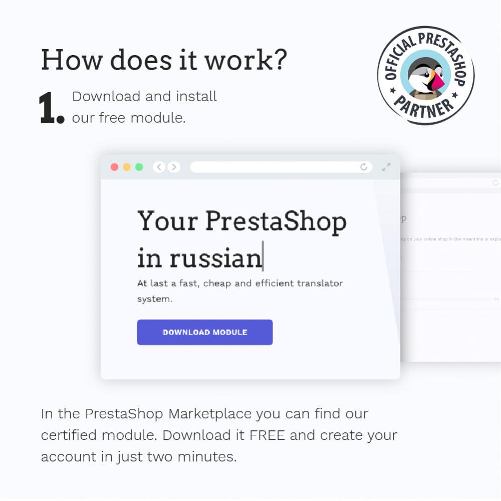 module - International & Localization - Glotio - Translate your PrestaShop in over 50 languages - 4