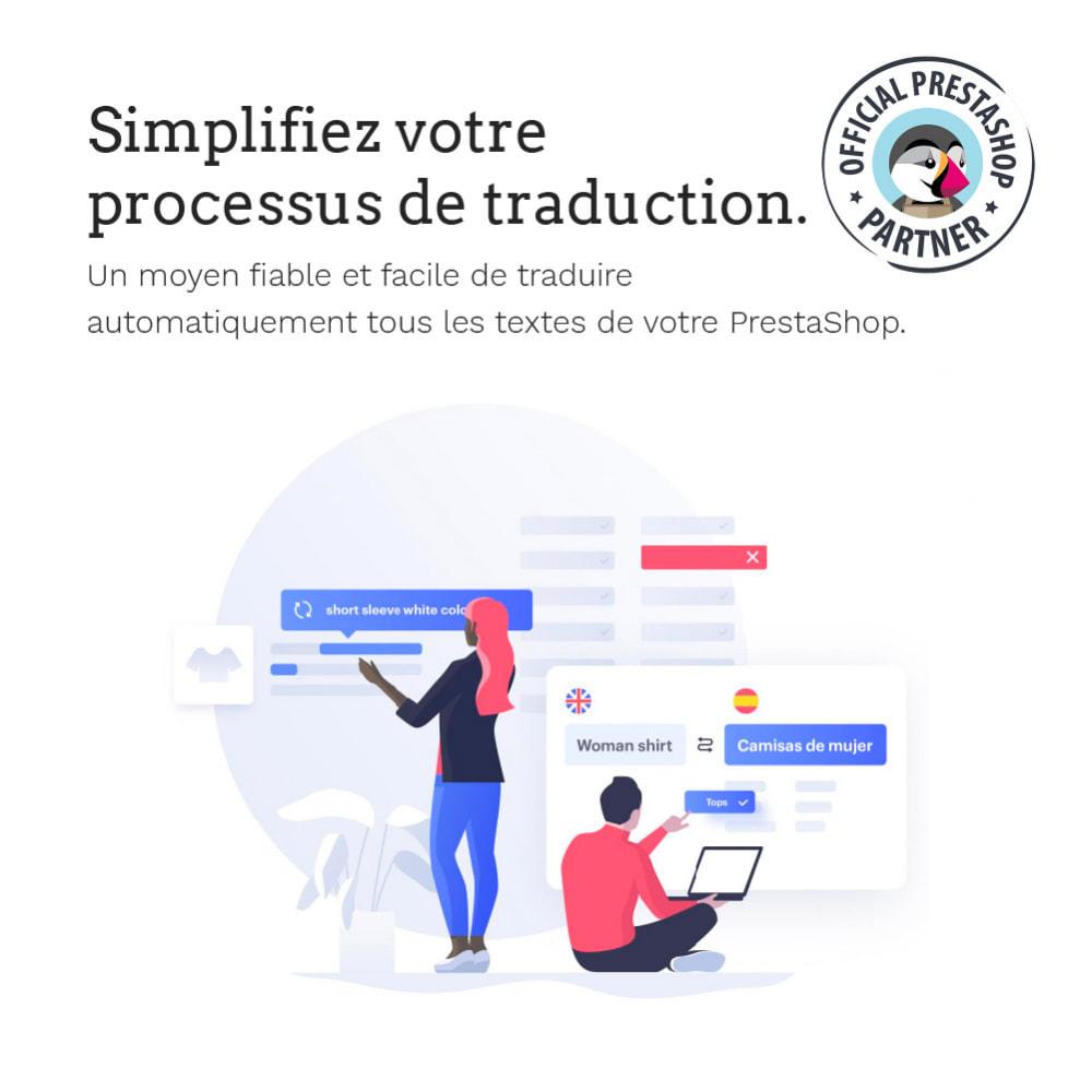 module - International & Localisation - Glotio -Traduisez PrestaShop dans plus de 50langues - 3
