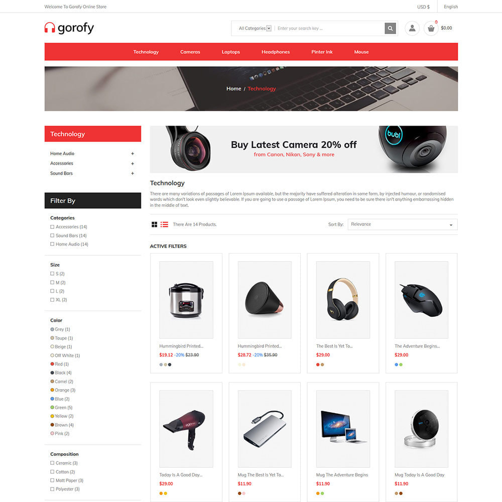 theme - Electrónica e High Tech - Electrónica móvil - Tienda de drones digitales para - 4
