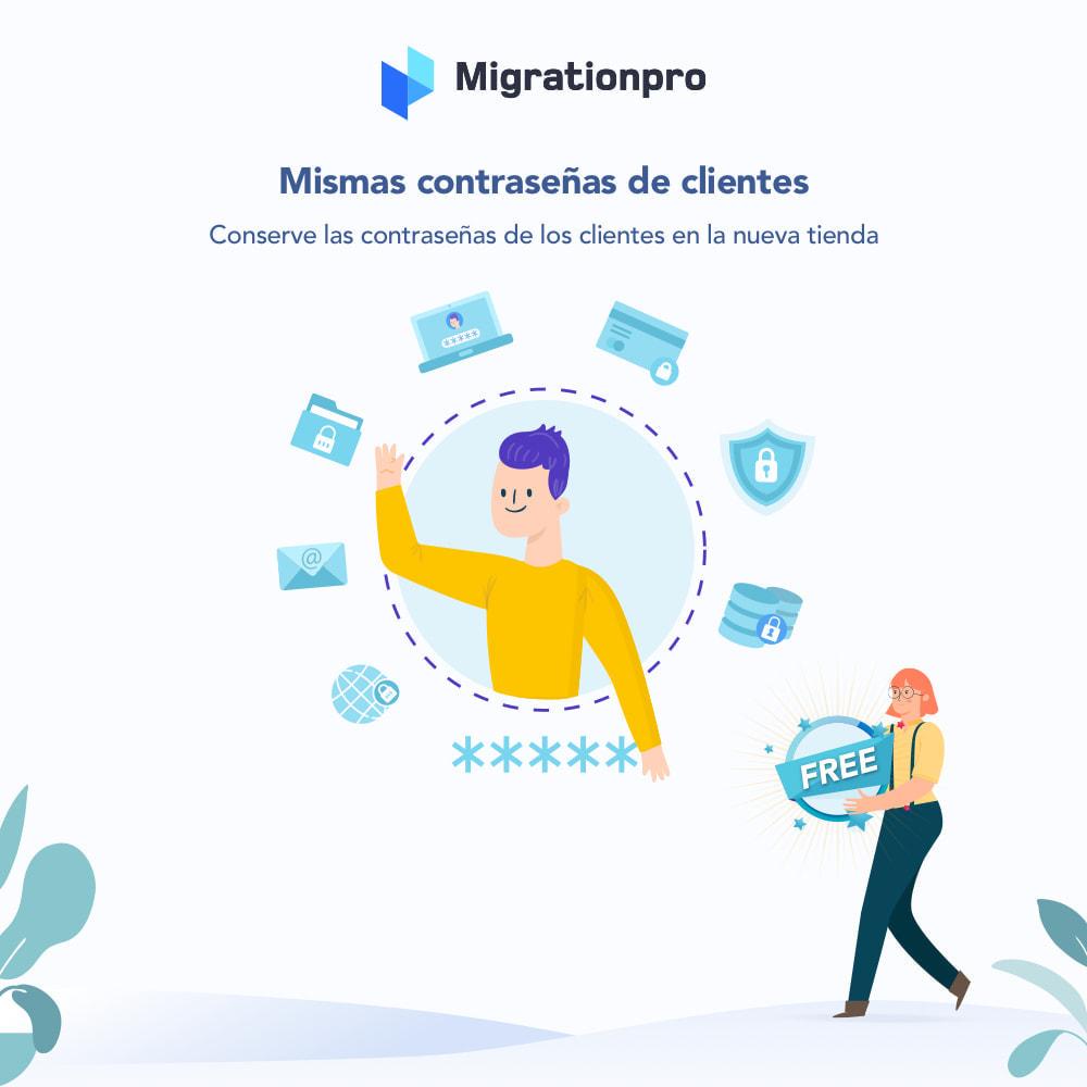 module - Migración y Copias de seguridad - Herramienta de migración de WooCommerce a PrestaShop - 4
