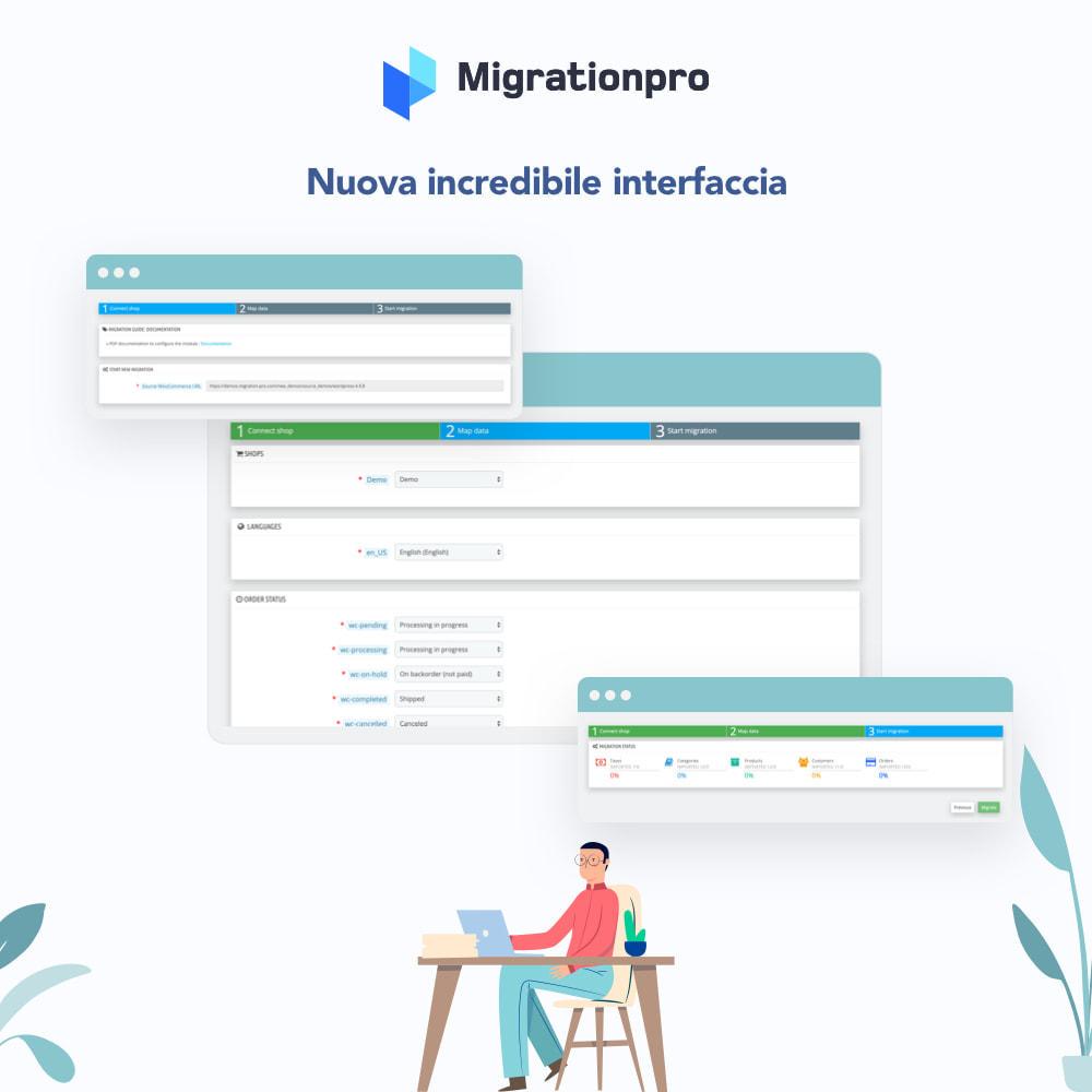 module - Data Migration & Backup - Strumento di migrazione da WooCommerce a PrestaShop - 5