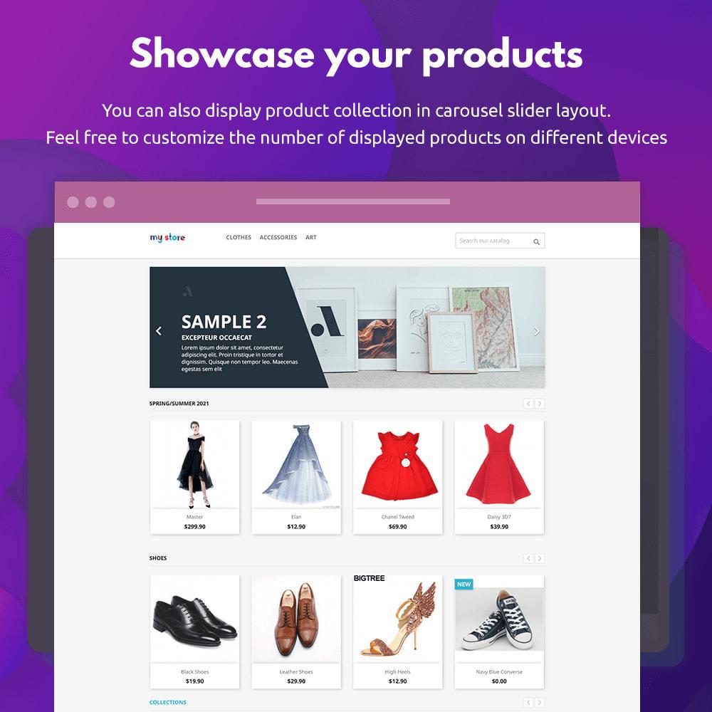 module - Visual dos produtos - Product Collections - 3