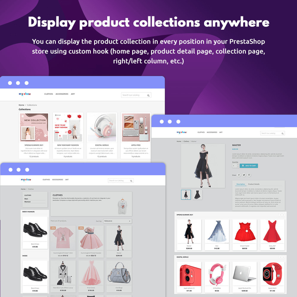 module - Visual Products - Product Collections - 4