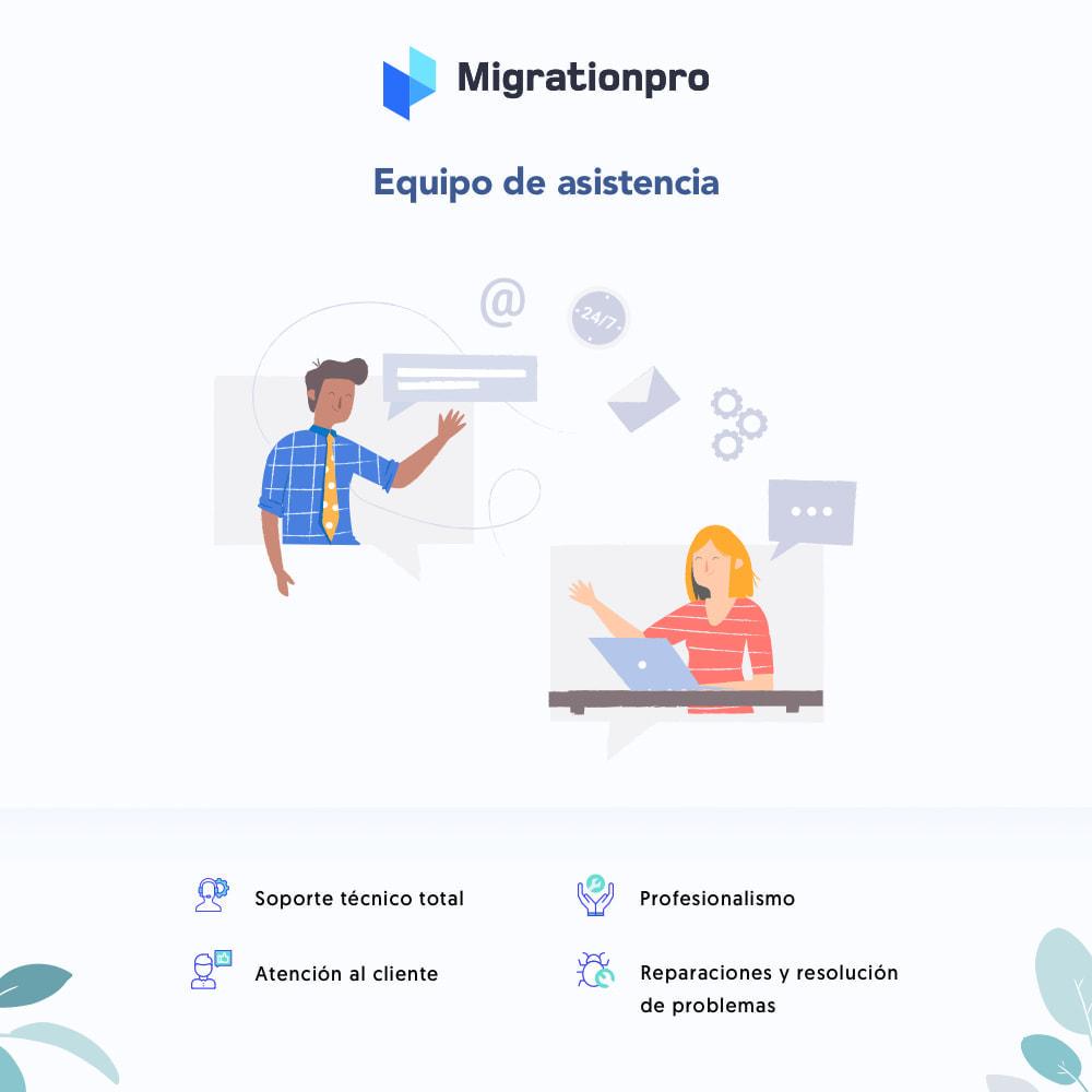 module - Migración y Copias de seguridad - Herramienta de migración de Magento a PrestaShop - 8