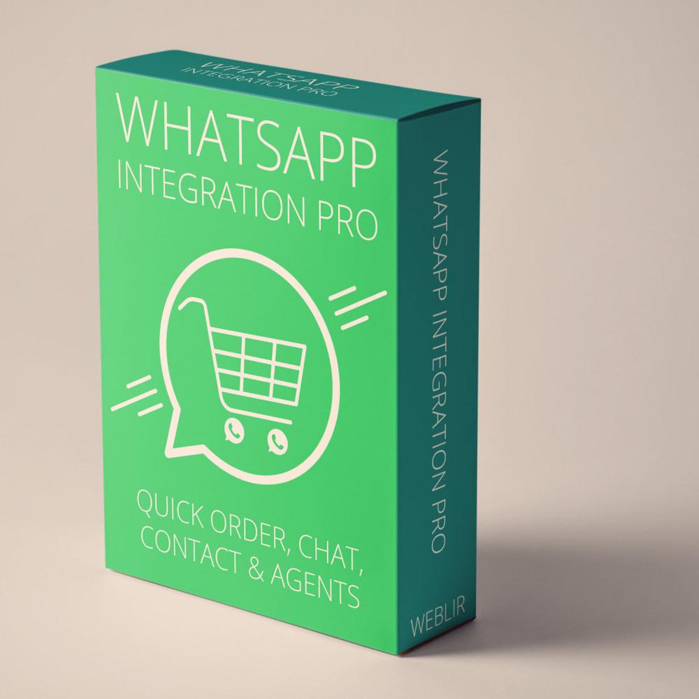 module - Wsparcie & Czat online - Integracja WhatsApp PRO - zamówienie, czat, agenci - 1