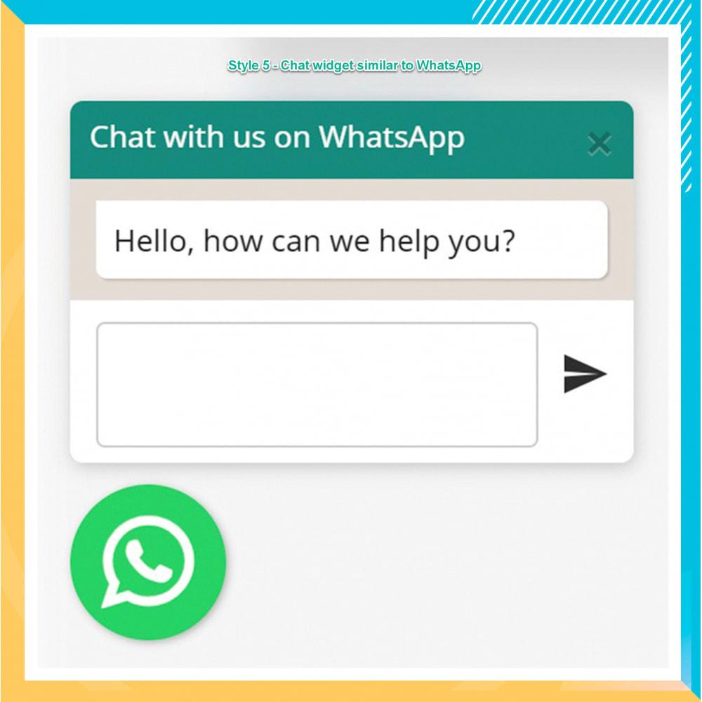 module - Support & Online-Chat - WhatsApp Integration PRO - Bestellung, Chat, Agenten - 16