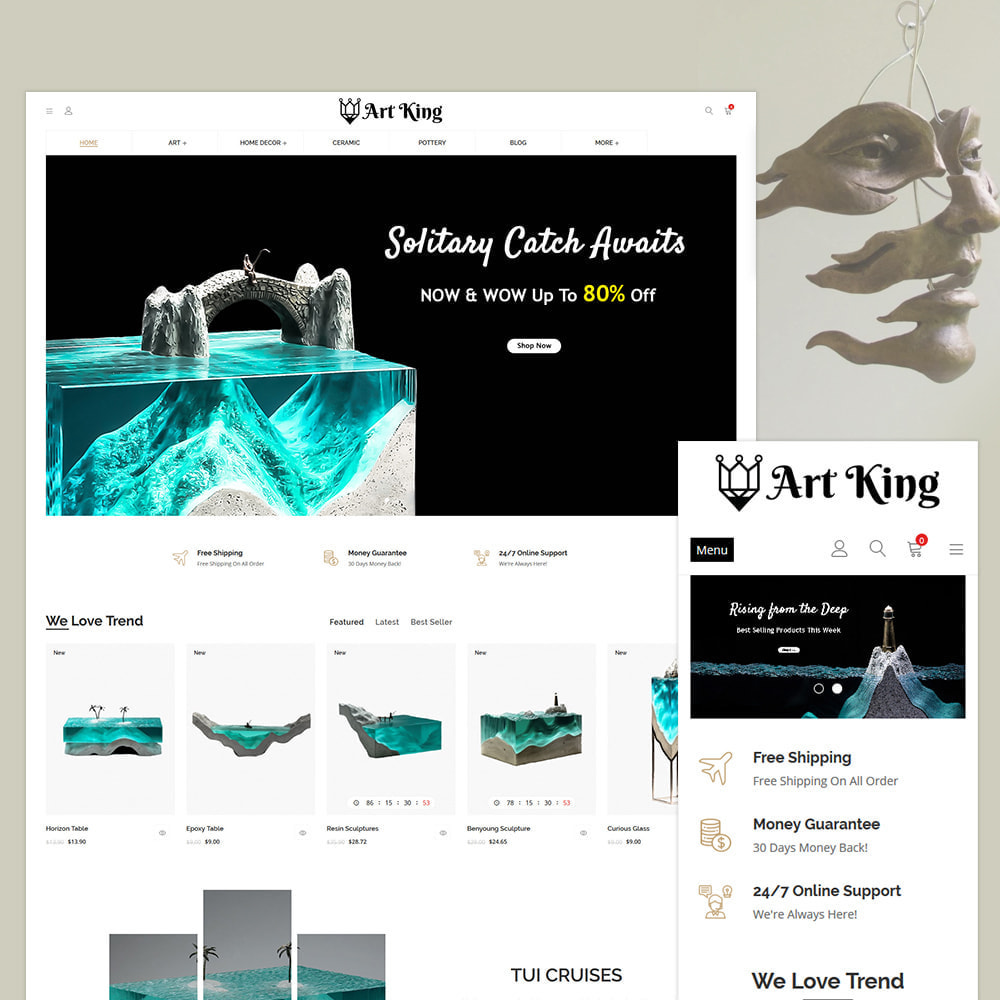 theme - Jewelry & Accessories - Art King Decor Store - 1