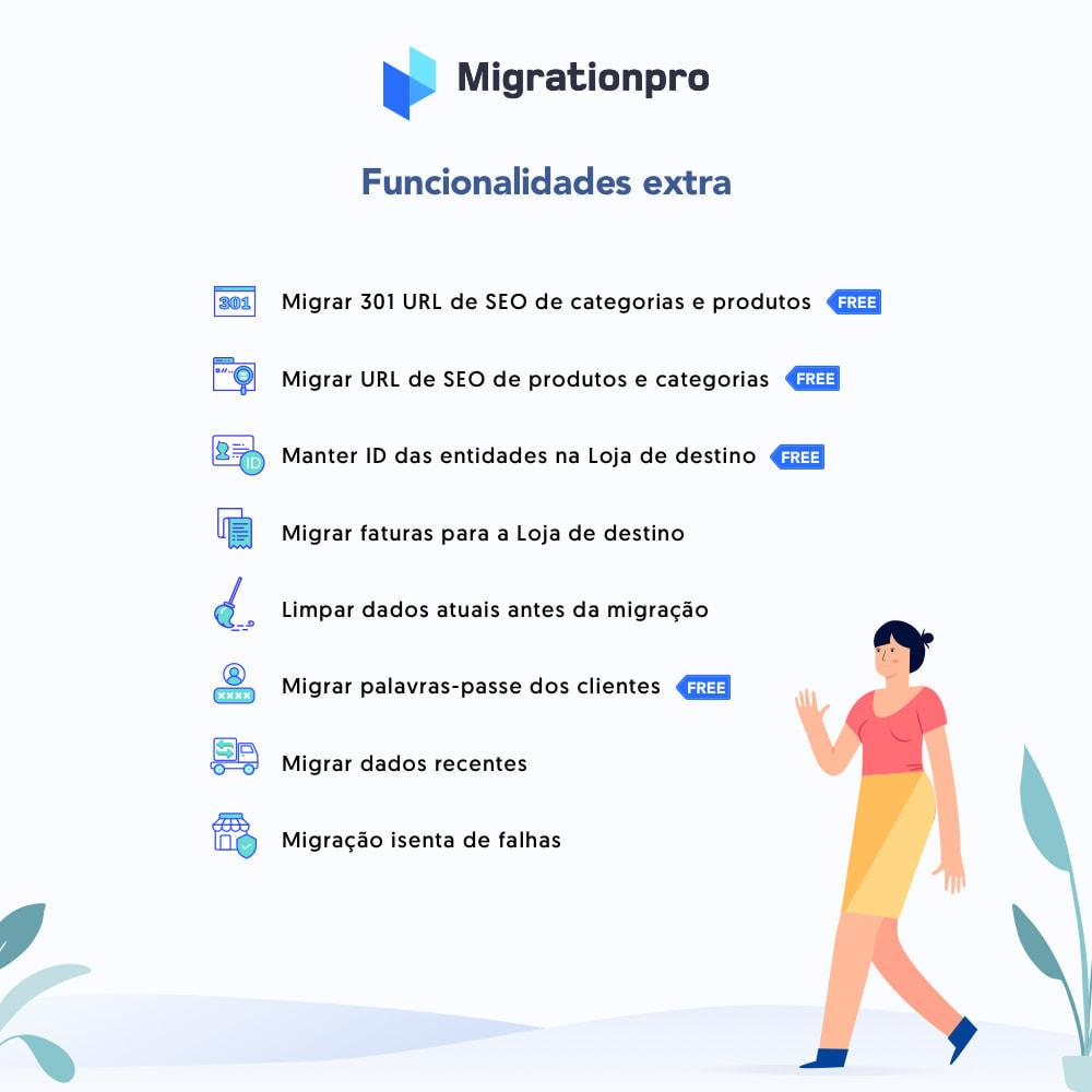 module - Migração de Dados & Registro - Ferramenta de Migração de VirtueMart para PrestaShop - 5