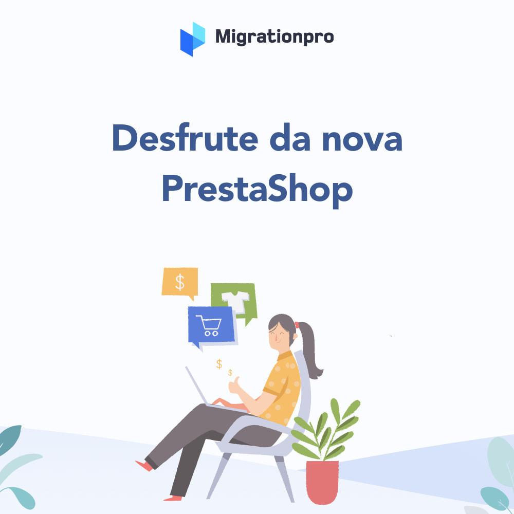 module - Migração de Dados & Registro - Ferramenta de Migração de VirtueMart para PrestaShop - 9
